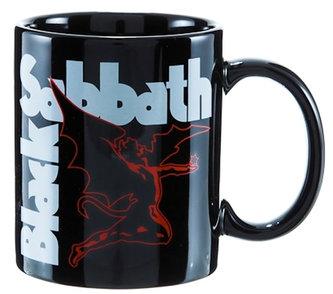 Hrnek keramický - Black Sabbath/černý/logo