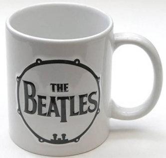 Hrnek keramický - Beatles/logo 3D buben