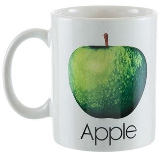 Hrnek keramický - Beatles/jablko/bílý