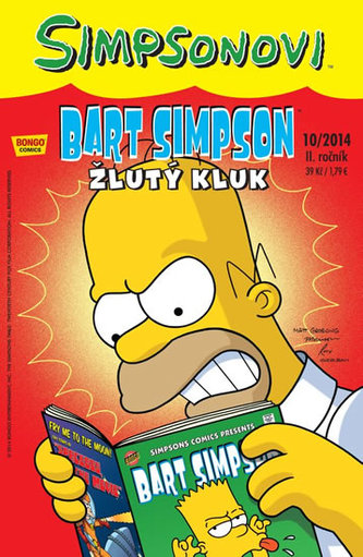 Simpsonovi - Bart Simpson 10/2014 - Žlutý kluk - Matt Groening