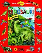 Dinosauři 8x puzzle