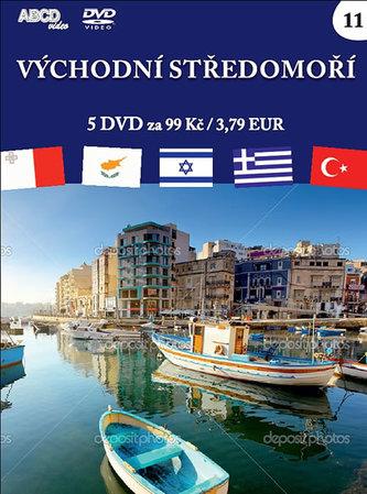 Východní Středomoří - 5 DVD - neuveden