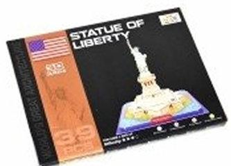 Puzzle 3D - Socha Svobody (39 dílků)