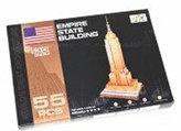 Puzzle 3D - Empire State Building (55 dílků)