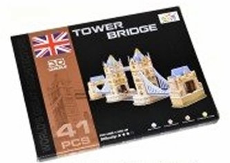 Puzzle 3D - Tower Bridge (41 dílků)