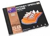 Puzzle 3D - Opera v Sydney (58 dílků)