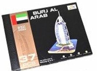 Wiky - Puzzle 3D - Burj Al Arab (37 dílků)