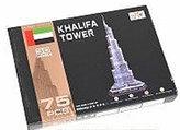 Puzzle 3D - Khalifa Tower (75 dílků)