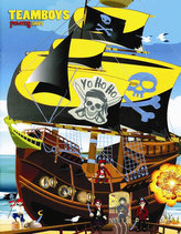 TEAMBOYS Pirates ship