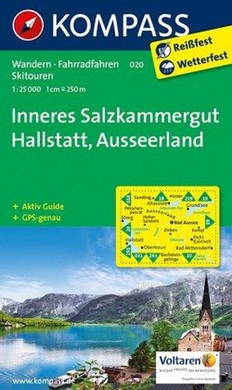 Kompass Karte Inneres Salzkammergut, Ausseerland
