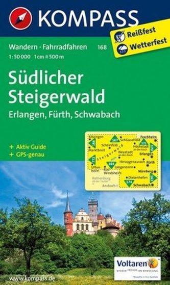 Kompass Karte Südlicher Steigerwald