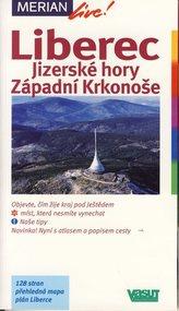 Liberec Jizerské hory Západní Krkonoše - Merian 80