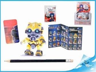 BOX Figurka Transformers s puzzle kartičkou II. serie