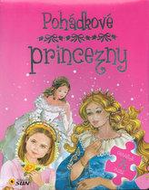 Pohádkové princezny - 7 puzzle s pohádkou
