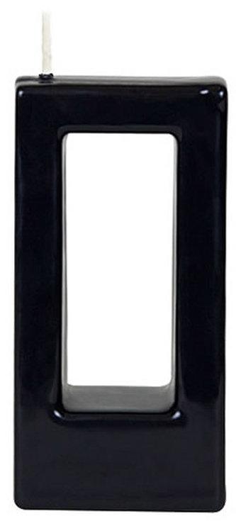 Svíčka Alusi Quadra Una (černá)