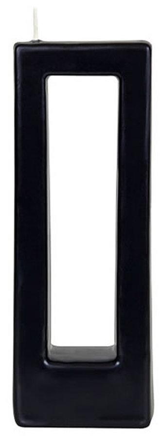 Svíčka Alusi Quadra Due (černá)