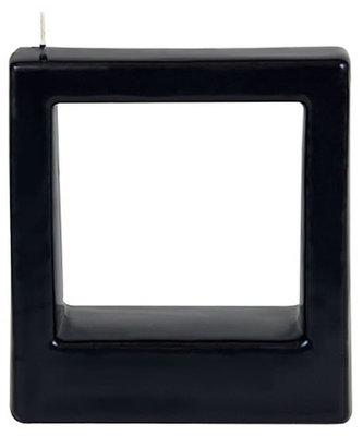 Svíčka Alusi Quadra Tre (černá)