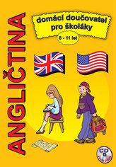 Angličtina domácí doučovatel pro školáky 8-11 let + CD