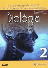 Biológia Pracovný zošit pre 9. ročník 2