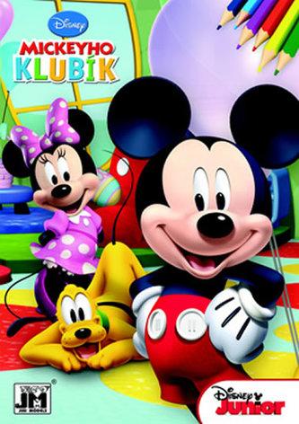 Mickeyho klubík omalovánka