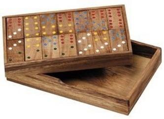Domino dřevěné 6