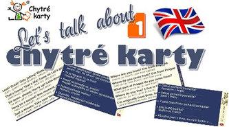 Chytré karty - Angličtina Let's talk about 1