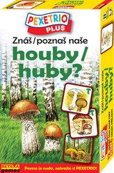 Pexetrio Plus Znáš naše houby?