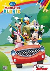 Mickeyho klubík - omalovánka