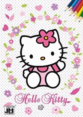 Hello Kitty omalovánka