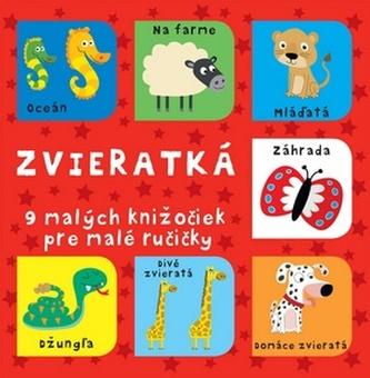 Zvieratká 9 malých knižočiek pre malé ručičky