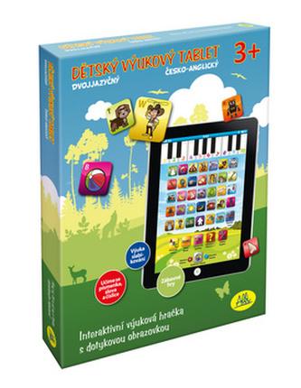 Dětský tablet dvojjazyčný CZEN