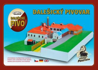 Dalešický Pivovar - Stavebnice papírového modelu