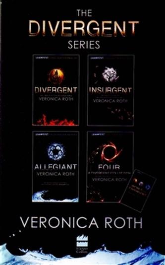 Divergent (BOOKS 1-4 plus World of Divergent) - Veronica Roth
