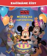 Mickey Mouse - Mickey má narozeniny - Začínáme číst