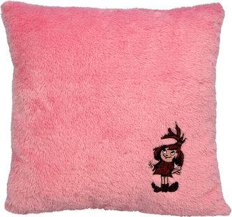 Malá čarodějnice - Polštář růžový