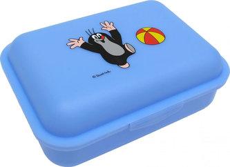 Krtek míč - Světle modrý svačinový box