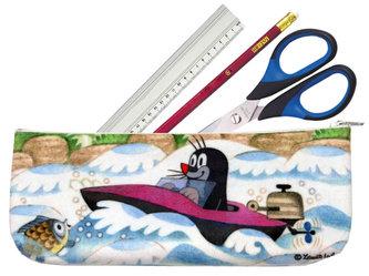 Krtek a člun - Taštička 20x8cm