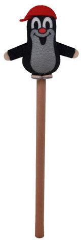 Krtek  5cm s kšiltovkou - tužka