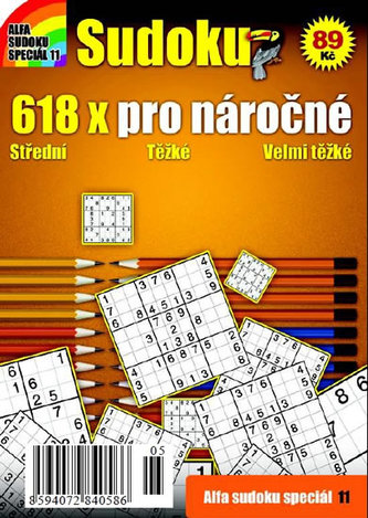 Sudoku 11 - 618x pro náročné