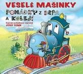 Veselé mašinky - pohádky z depa a kolejí - CD (Čte Jiří Somr)