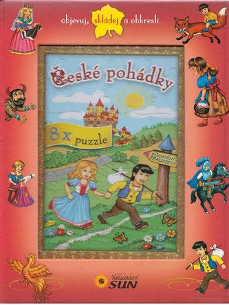 České pohádky 8x puzzle