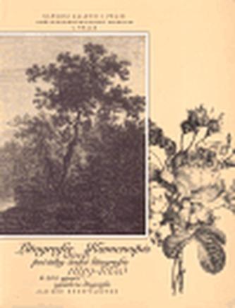 Litografie aneb Kamenopis - počátky české litografie 1819 - 1850