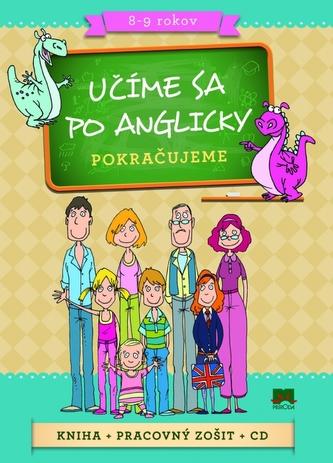 Komplet 3 ks Učíme sa po anglicky Pokračujeme
