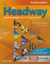 New Headway Pre-Intermediate Maturita Fourth Edition Student´s Book + iTutor DVD