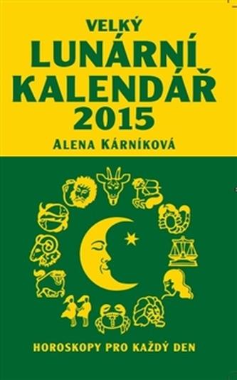 Velký lunární kalendář 2015