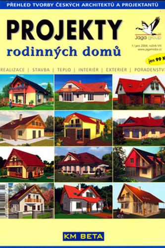 Projekty rodinných domů jaro 2004