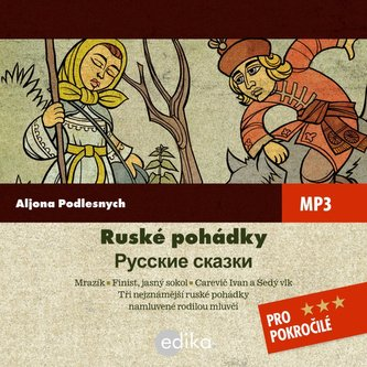 Ruské pohádky (Mrázik a jiné) - audiokni