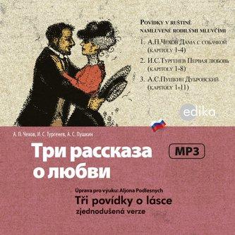 Tři povídky o lásce - audiokniha