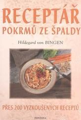 Receptář pokrmů ze špaldy