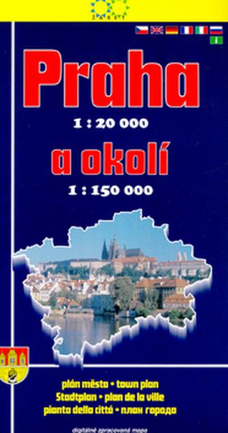 Praha a okolí 2004 1:20 000